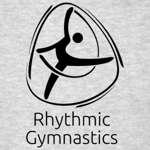Rhythmic_gymnastics_black - Men's T-Shirt