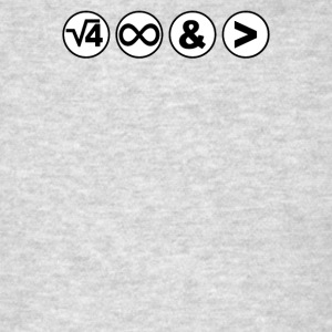 2 Infinity and Beyond - Men's T-Shirt