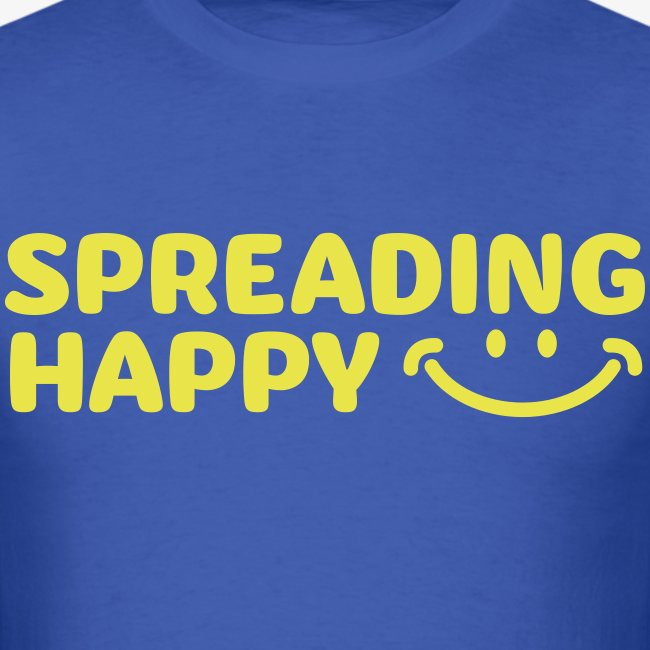 Women's Spreading Happy Turquoise T-Shirt