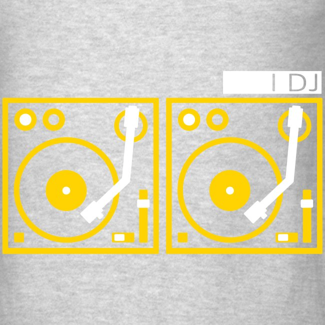 I DJ on 2 Turntables