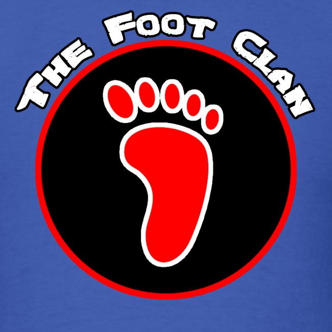Foot Clan Mens T Shirt All Colors Mens T Shirt Critical Hit Clothing