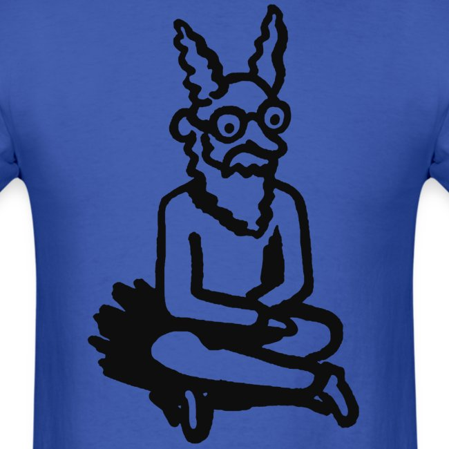 The Zen of Nimbus t-shirt / Black and white design