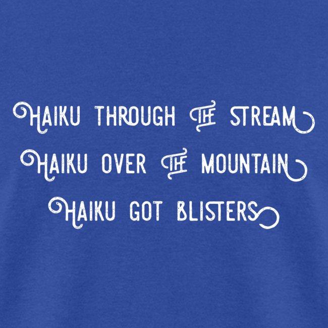 Haiku over the mountain