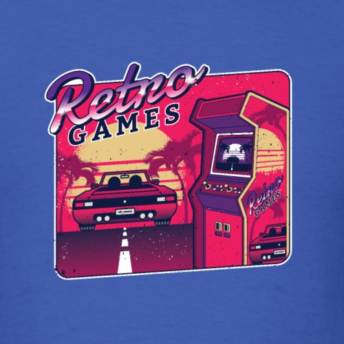 Retro Games - Men's T-Shirt