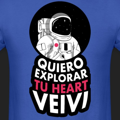 Quiero Explorar tu Heart Veivi - Men's T-Shirt