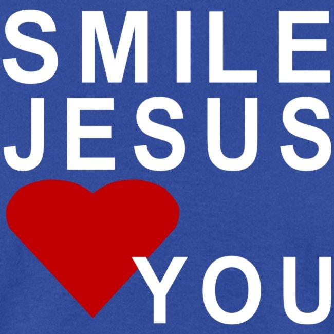 WEARIT T SHIRTS | SMILE JESUS LOVES YOU! - Mens T-Shirt