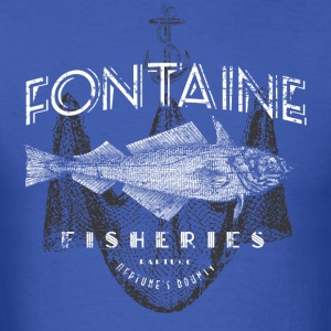 Fontaine Fisheries - Men's T-Shirt
