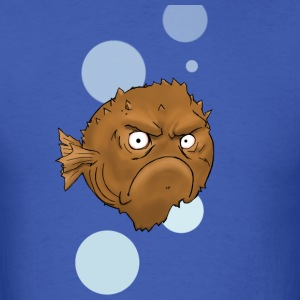 Grouchy Fish - Men's T-Shirt
