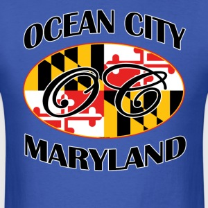 Ocean City Maryland Flag Design - Men's T-Shirt