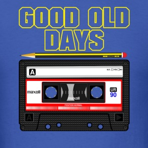 Good Old Days Tape - Men's T-Shirt