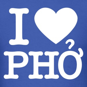 i love pho - Men's T-Shirt