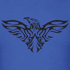 eagle flying tshirt - Men's T-Shirt