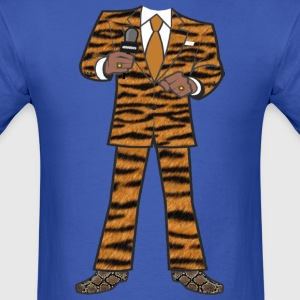 The Tiger Suit - Men's T-Shirt