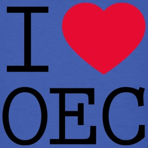 I love OEC - Men's T-Shirt