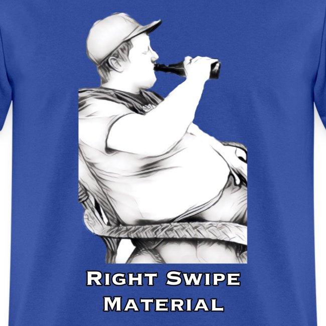 Right Swipe Material