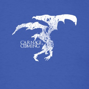 Carnage is Coming (white) - Men's T-Shirt