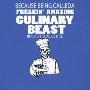 CULINARY BEAST - Men's T-Shirt