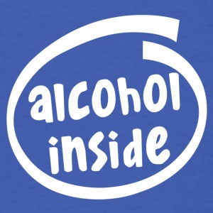 alcohol inside (1841B) - Men's T-Shirt