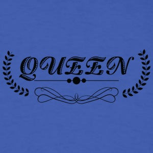 Queen black - Men's T-Shirt
