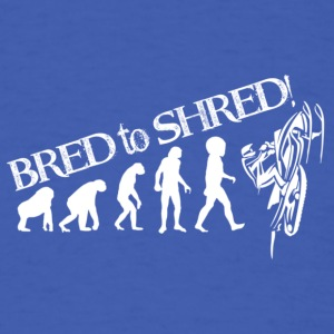 sled-evolution - Men's T-Shirt
