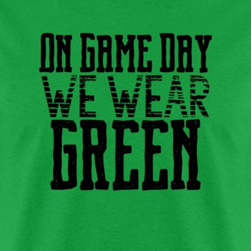 we wear green png - Men's T-Shirt