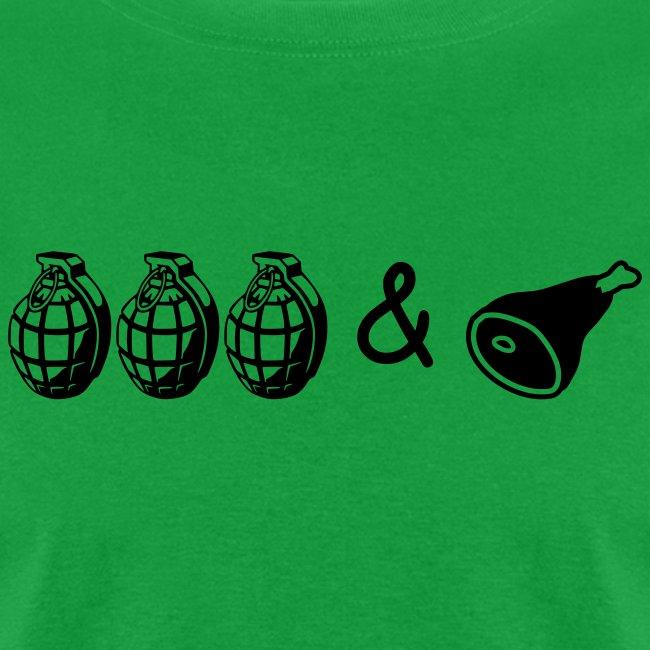 grenades ham row