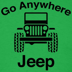 Jeep Go Anywhere - Men's T-Shirt