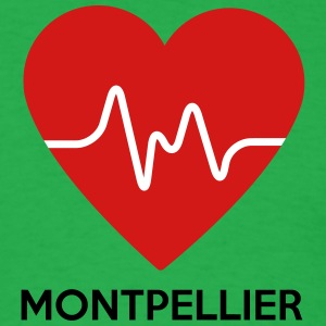 Heart Montpellier - Men's T-Shirt