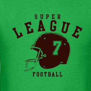 SUPER LEAGUE FOOTBALL - Men's T-Shirt