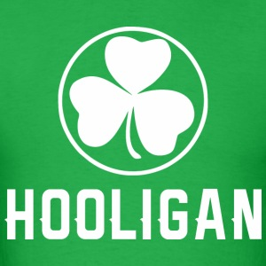 Hooligan Clover Saint Patrick Day - Men's T-Shirt