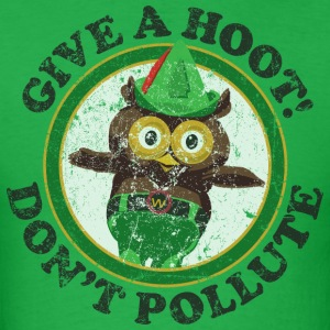 Woodsy the Owl - Men's T-Shirt