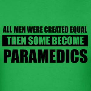 men-paramedics design - Men's T-Shirt