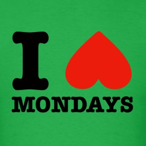 I heart mondays - Men's T-Shirt