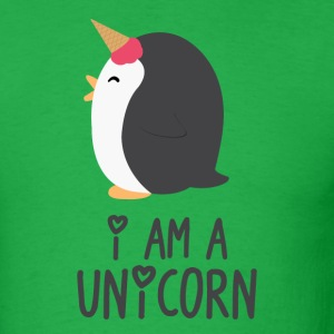 Unicorn Penguin - Men's T-Shirt