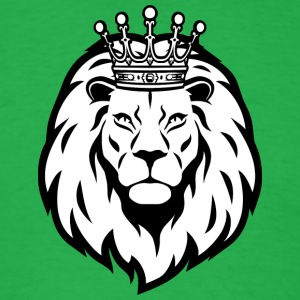 lion_king_with_crown - Men's T-Shirt