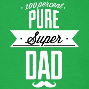 Pure_super_dad_white - Men's T-Shirt