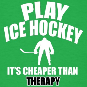 ice hockey designs - Men's T-Shirt