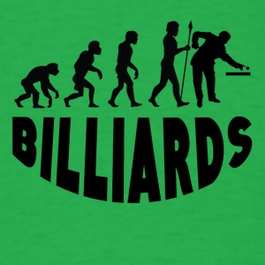 Billiards Evolution - Men's T-Shirt