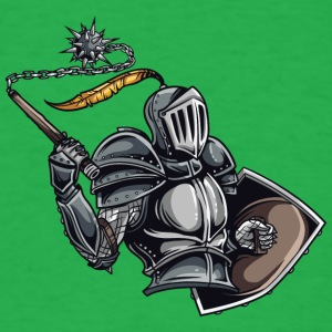 armored knight - Men's T-Shirt