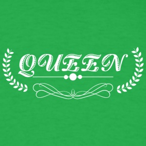 Queen white - Men's T-Shirt