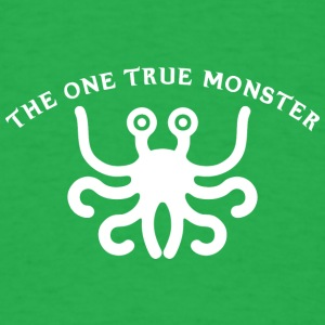 the one true monster white 2 - Men's T-Shirt
