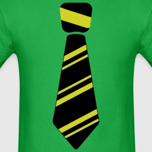 Neck tie yellow - Men's T-Shirt