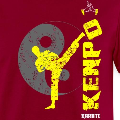 Vertical Kenpo Kickin - Men's T-Shirt