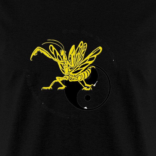 Yellow mantis yin yang