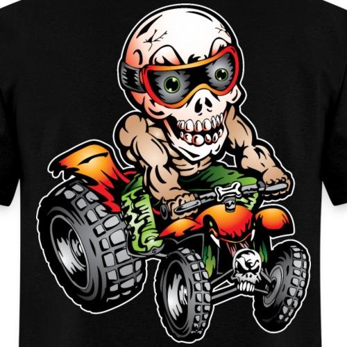 Off-Road ATV Skull Rider - Men's T-Shirt
