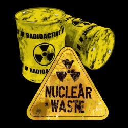 Danger nuclear waste radioactive