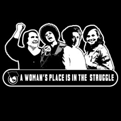 A woman\'s place in the struggle