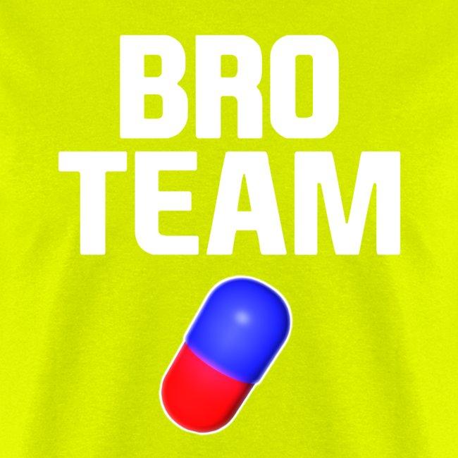 Bro Team White Words Logo Women's T-Shirts