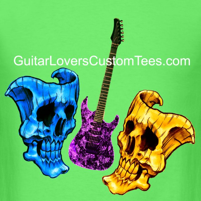 Guitar and Skull Masks