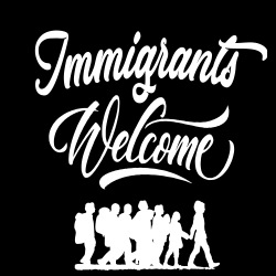Immigrants welcome